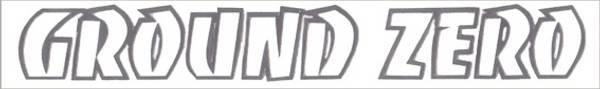 Bilde av Ground Zero Sticker Silver