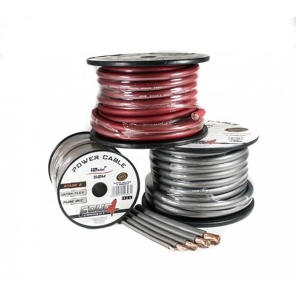Bilde av 4 CONNECT 20mm2, rød 100% ren kobber